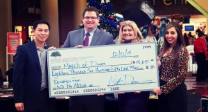 Check Presentation to March of Dimes