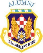 105th Airlift Wing Alumni Logo