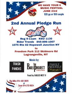 We Have Your 6 2nd Annual Pledge Run @ Rider Trendz | Hopewell Junction | New York | United States
