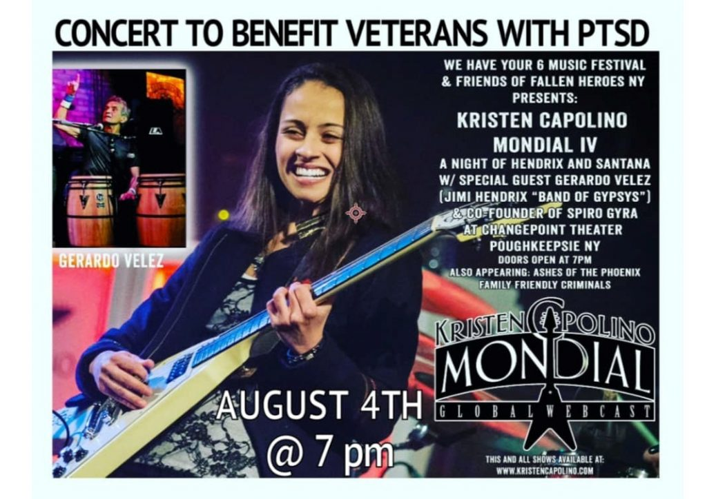 We Have Your 6 - Concert to Benefit Veterans with PTSD @ Changepoint Theater | Poughkeepsie | New York | United States