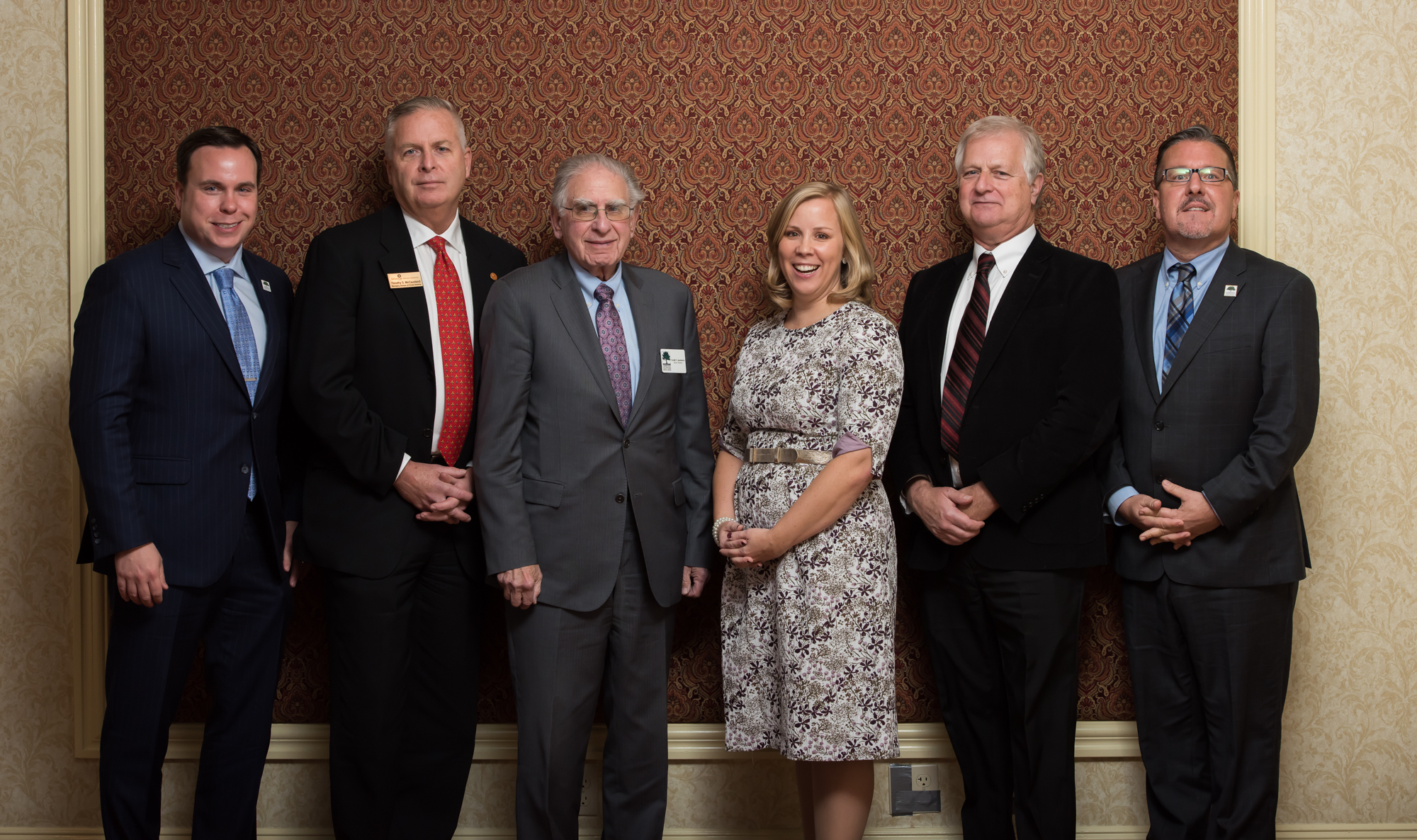 Past and Current Board Members with Elizabeth Rowley, President & CEO